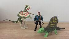 Jurassic Park Dinosaurios & Figura De Acción-Dilophosaurus-Dimetrodon-JP11
