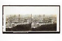 Panorama Da Florence Firenze Italia Lachenal E Favre Vintage Ca 1865