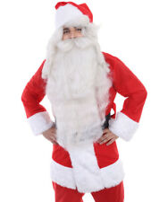 Adult Xmas Party Super Santa Wig and Beard Set Cosplay Party Fancy Dress HX-003