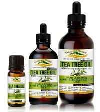 Australian Tea Tree Organic Certified 100% Pure Essential Oil Aromatherapy