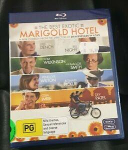 The Best Exotic Marigold Hotel (BluRay2012) Brand New Sealed In Plastic Region B
