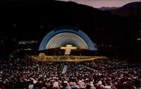HOLLYWOOD Los Angeles USA Amerika BOWL Amphitheater Old Postcard ~1960/70