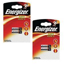 4 x Energizer A27 12V batteria 27A MN27 GP27A E27A EL812