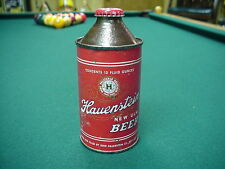 Hauenstein Beer Cone Top Beer Can (original cap)