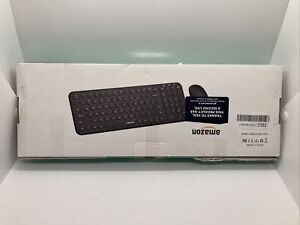Jelly Comb Ultra-Thin  Wireless Keyboard And Mouse Combo New Open Box