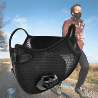 Dustproof Cycling Face Cover with Activated Carbon Filter Mouth Shield Scarf