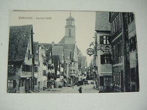Postkarte Dinkelsbühl Segringerstrasse 102