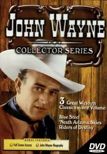 John Wayne Collectors Series DVD (3 Great Western Classics in one Volume)