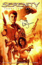 Serenity Those Left Behind by Brett Matthews 2007 Signed Joss Whedon Firefly
