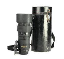 Nikon AF 300mm F4 ED Autofocus Nikkor Telephoto Prime Lens + Hard Case & F/R Cap