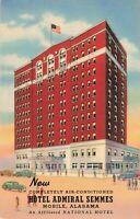 Postcard Hotel Admiral Semmes Mobile Alabama