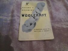 Patons & Baldwin Knitting Pattern Booklet: Woolcraft, 13th Edition
