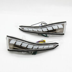 Sequential Turn Signals LED Mirror Light Upgrade For Infiniti Q50 Q60 Q70 QX