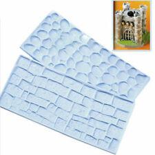 Betonpflaster Ziegel Wand Faser Impression Matte Kuchen FondantPraktisch eNwrg