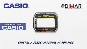 Vintage Glas Casio W-70R NOS