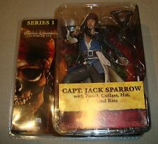PIRATES OF THE CARIBBEAN AT WORLD'S END SERIES 1 JACK SPARROW NECA 2007