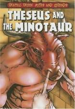 Theseus and the Minotaur (Graphic Greek Myths and Legends)-ExLibrary