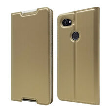 For Google Pixel 2 XL Leather Flip Wallet Phone Case Protector Cover New