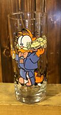 Garfield Animated Character Jim Davis Rare Garfield'S Cafe 1978 Drinking Glass