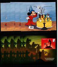 // 5X GRENADA - MNH - DISNEY - CARTOONS - MICKEY - CAKE - FAMOUS PEOPLE