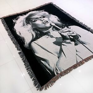 Custom woven - Debbie Harry - Picture This- blanket / Throw