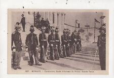 Monaco Carabiniers Garde d'Honneur du Prince Grande Tenue Monaco Postcard 906a