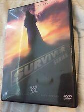 WWE WWF Survivor Series 2005 DVD Team Raw Vs Team Smackdown