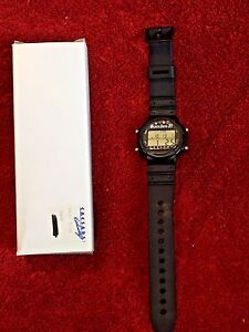 CAESARS PALACE UNISEX BLACKJACK 21 GAME WATCH WITH INSTRUCTION MANUAL