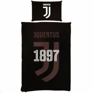 Juventus Football Club Reversible Single Duvet Cover Bedding Set Limited Design