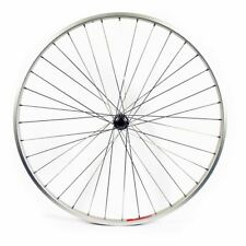 Bike Front Wheel 700C Hybrid Silver Single Wall Rim Q/R Axle 36H Wilkinson