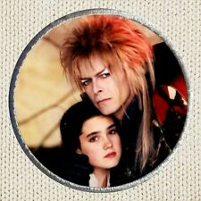 Labyrinth Goblin King & Sarah Patch Picture Embroidered Border David Bowie