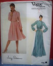Vintage Vogue Designer Sewing Pattern Never Used or Cut #2782 Jerry Silverman 14