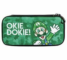 Slim Nintendo Switch Case Luigi Camo Green OKIE DOKIE
