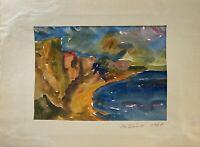 Steilküste auf Fischland Darß Ahrenshoop Wustrow Ostsee Hohes Ufer Impressionist