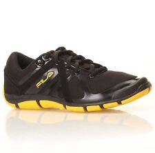 NIB FILA Mens M Vent Running Shoes (Black/Yellow Size 10)
