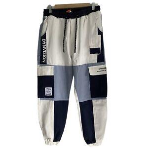 Woman Unisex Cargo Pants Cotton 7 Pockets DyNvision Brand Size Medium