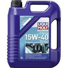 NEUF 1x 25016 Liqui Moly 25016 marine 4 T motor oil 15w-40 5 L D'huile 4 T (€ 8,99/l)
