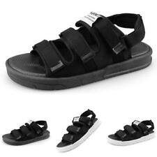 Summer Mens Slingbacks Sandals Shoes Outdoor Sports Cut out Walking Flats Casual