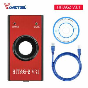 HiTag2 V3.1 Car IMMO Remote Programmer Key Maker VIN&PIN Coding Fit For BMW/Audi