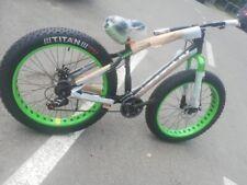 Fat Bike 26 Nera/verde Alluminio Shimano
