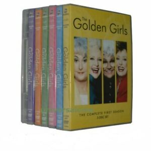 THE GOLDEN GIRLS complete season/series 1-7 NEW 21 DISCS Fast Dispatch