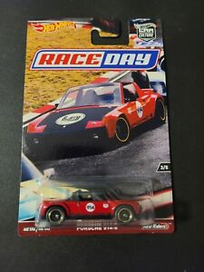 🔥 HOT WHEELS PORSCHE 914-6 RACE DAY REAL RIDER NICE  🔥