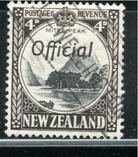 NEW ZEALAND STAMPS OFFICIAL  CANCELED USED     LOT 39195