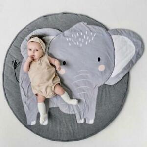 Baby/Infant play Mat round - Elephant