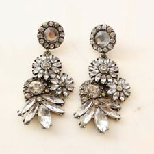 New Baublebar Acrylic Daisy Statement Earrings Gift Vintage Women Party Jewelry