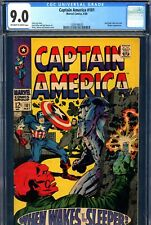Captain America #101 CGC GRADED 9.0 - Red Skull c/s - 2nd issue of S.A. series