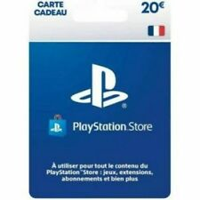 carte psn 20euros FR (envoyé par mail) Sony PlayStation Store, Fonds pour porte-