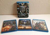 Transformers Trilogy (Blu-ray Disc, 2011, 3-Disc Set)