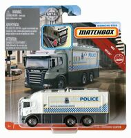 Matchbox - 2019 Working Rigs - Scania Tactical Command Center Police