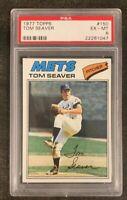 1977 Topps Tom Seaver #150 HOF PSA 6 EX - Mint - New York Mets Legend!
